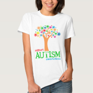 Conciencia del autismo de la ayuda playeras