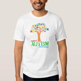 Conciencia del autismo de la ayuda poleras