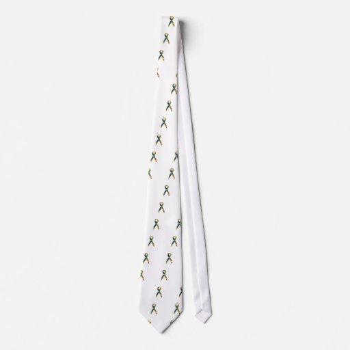 Conciencia del autismo de la cinta corbata personalizada