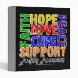 Conciencia del autismo de la curación del amor de