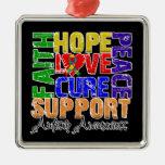 Conciencia del autismo de la curación del amor de  adornos