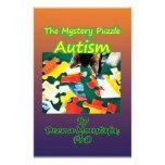 Conciencia del autismo de los productos papelería personalizada