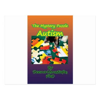 Conciencia del autismo de los productos tarjetas postales