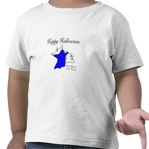 Conciencia del autismo del feliz Halloween Camisetas