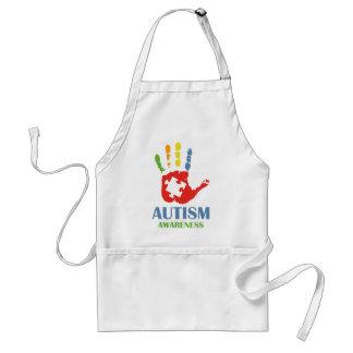 Conciencia del autismo delantal
