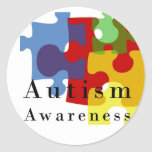 Conciencia del autismo etiqueta