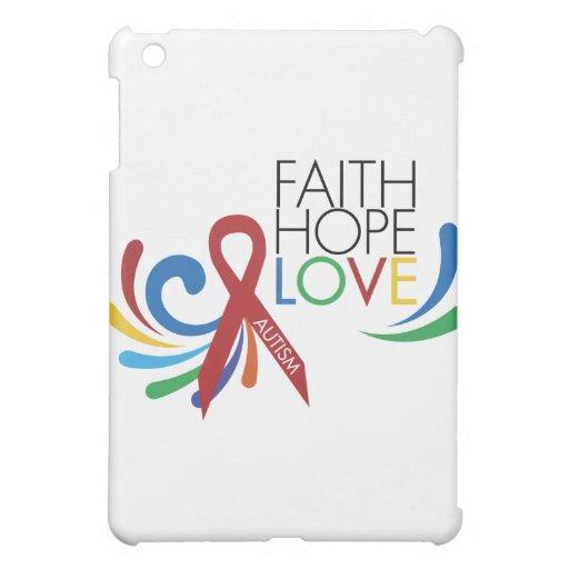 Conciencia del autismo - fe, esperanza, amor