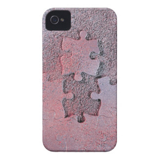 Conciencia del autismo iPhone 4 Case-Mate carcasa