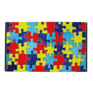 Conciencia del autismo iPad cárcasas