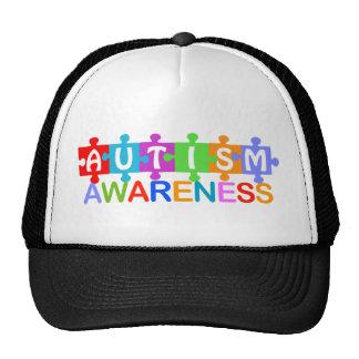Conciencia del autismo gorras de camionero