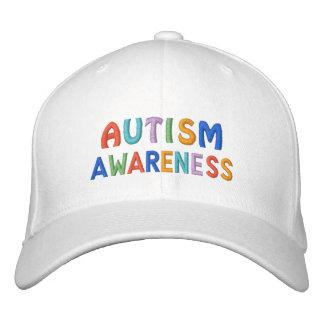 Conciencia del autismo gorras de beisbol bordadas