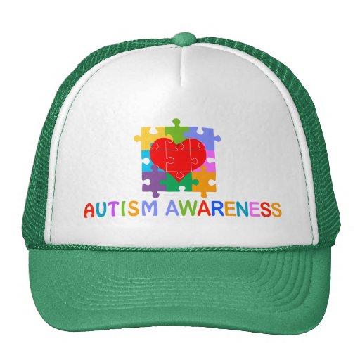 Conciencia del autismo gorras