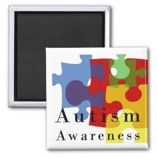 Conciencia del autismo imán de frigorífico