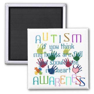 Conciencia del autismo imán de frigorifico