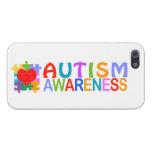 Conciencia del autismo iPhone 5 protectores