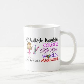 Conciencia del autismo - mi hija tazas