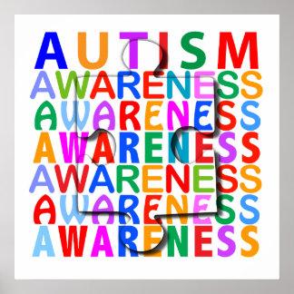 Conciencia del autismo impresiones