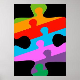 Conciencia del autismo poster