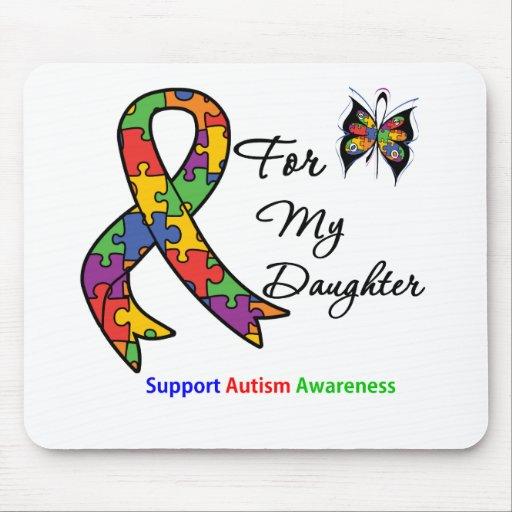 Conciencia del autismo para mi hija alfombrilla de ratón