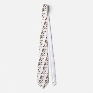 Conciencia del autismo para mi nieto corbata personalizada