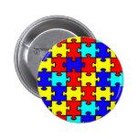 Conciencia del autismo pin