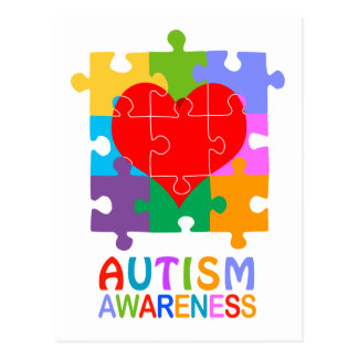 Conciencia del autismo postal