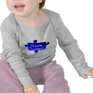 Conciencia del autismo (PP azules) Camisetas
