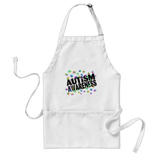 Conciencia del autismo (PP) Delantales