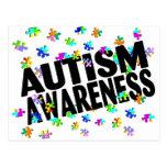 Conciencia del autismo (PP) Postales