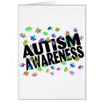 Conciencia del autismo (PP) Tarjeton