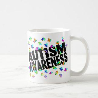 Conciencia del autismo (PP) Tazas De Café