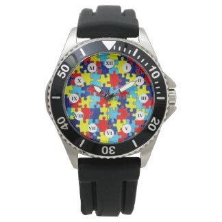 Conciencia del autismo reloj