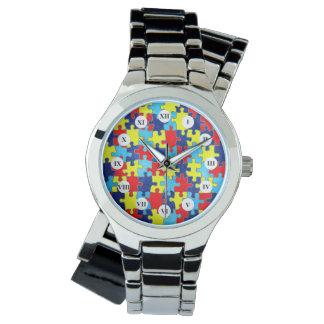 Conciencia del autismo relojes