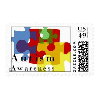 Conciencia del autismo franqueo