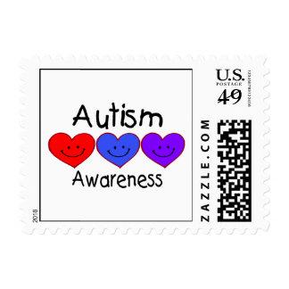 Conciencia del autismo sello