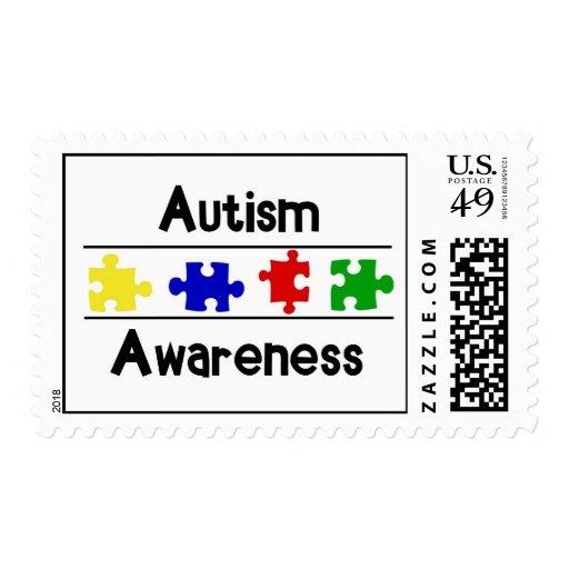 Conciencia del autismo sellos