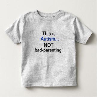 Conciencia del autismo t-shirt