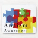 Conciencia del autismo tapete de raton