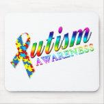 Conciencia del autismo tapetes de raton