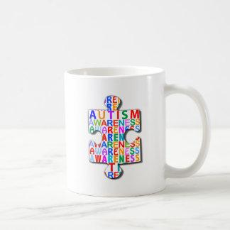 Conciencia del autismo taza