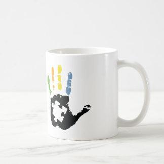 Conciencia del autismo taza de café
