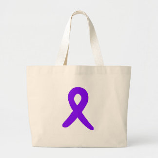 Conciencia del cáncer bolsa tela grande