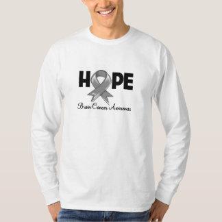 Conciencia del cáncer de cerebro de la esperanza remera