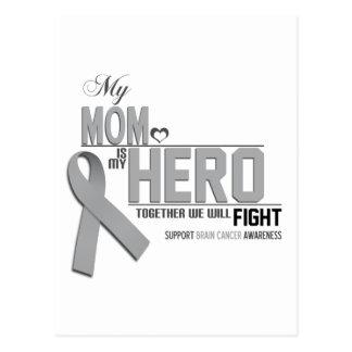 Conciencia del cáncer de cerebro: mamá postal