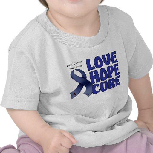 Conciencia del cáncer de colon camiseta