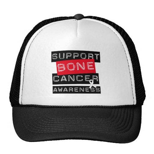 Conciencia del cáncer de hueso de la ayuda gorras de camionero