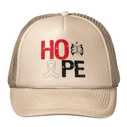 Conciencia del cáncer de hueso de la esperanza gorro