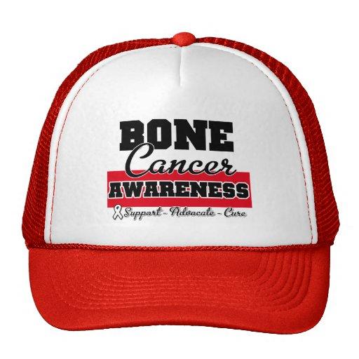 Conciencia del cáncer de hueso gorras