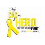Conciencia del cáncer de hueso: papá tarjeta postal