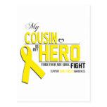 Conciencia del cáncer de hueso: primo tarjetas postales